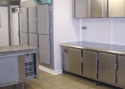 Revêtements pour laboratoires alimentaires professionnels